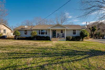 Goodlettsville Single Family Home Under Contract - Showing: 103 Utley Dr