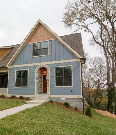 Nashville Single Family Home For Sale: 1708 McKinney Ave