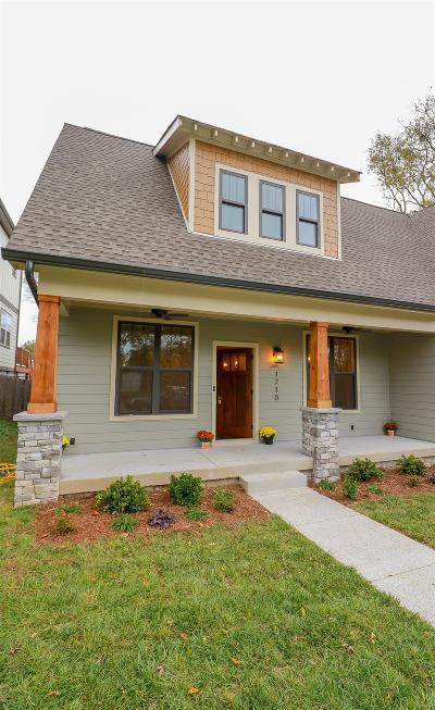 Nashville Single Family Home For Sale: 1710 McKinney Ave