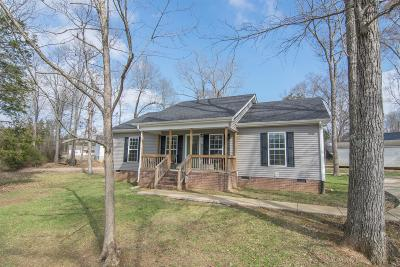 Marshall County Single Family Home Under Contract - Not Showing: 1707 Horton Cv