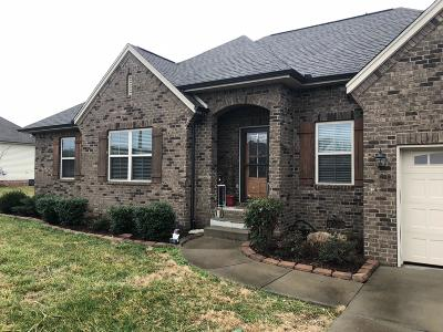Robertson County Single Family Home Under Contract - Showing: 1042 Richards Trace