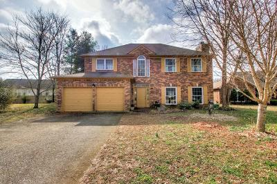 Mount Juliet Single Family Home Under Contract - Not Showing: 529 Creek Point