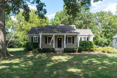 Green Hills Single Family Home Under Contract - Showing: 1714 Temple Ave