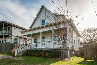 Nashville Single Family Home For Sale: 3513 Park Ave