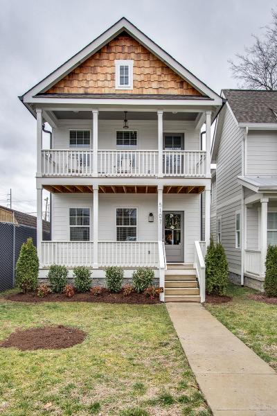 Nashville Single Family Home For Sale: 5107 A Tennessee Ave