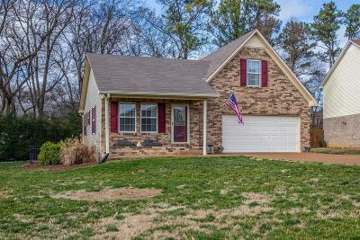 Spring Hill Single Family Home For Sale: 2936 Augusta Trace Dr
