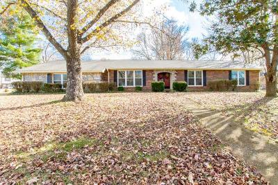 Smyrna TN Single Family Home Under Contract - Not Showing: $299,900