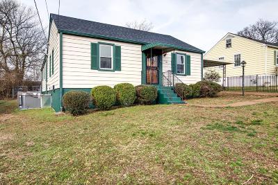 Nashville Single Family Home For Sale: 2612 Jones Ave