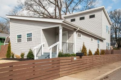 Nashville Single Family Home For Sale: 1700 14th Ave N