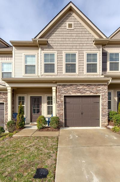 Old Hickory Condo/Townhouse For Sale: 1057 Chatsworth Dr