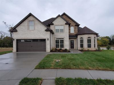 Clarksville Single Family Home Under Contract - Showing: 81 Griffey Estates