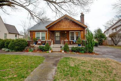 Franklin Single Family Home Under Contract - Showing: 1409 Adams St