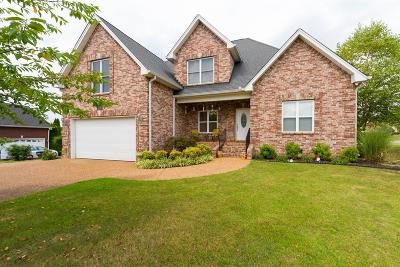 Robertson County Single Family Home Under Contract - Showing: 215 Sanctuary Ct