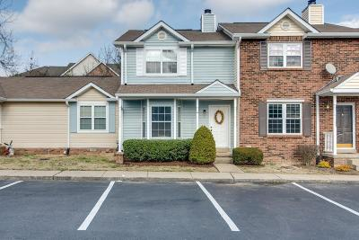 Davidson County Condo/Townhouse Under Contract - Showing: 5 Rolling Meadows Dr