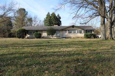 Hendersonville Single Family Home Under Contract - Showing: 450 Walton Ferry Rd