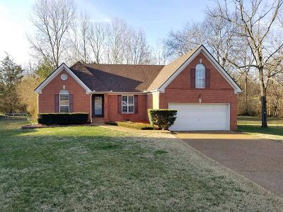 Mount Juliet Single Family Home Under Contract - Showing: 1705 Falcon Ct