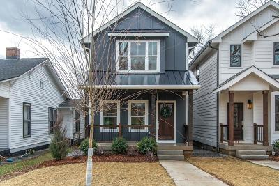 East Nashville Single Family Home Under Contract - Showing: 1022 B Cahal Ave