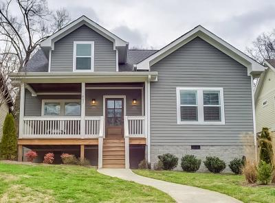 Nashville Single Family Home For Sale: 607 S 13th St