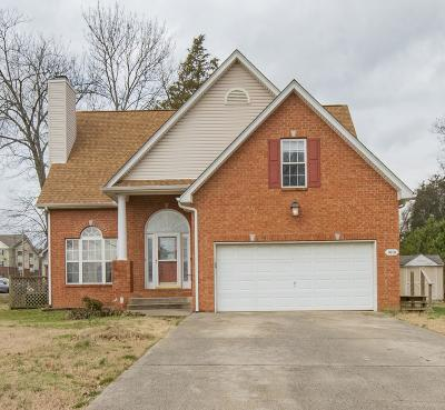 Smyrna Single Family Home Under Contract - Showing: 1001 Montrose Dr