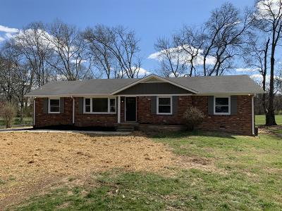 Gallatin Single Family Home For Sale: 743 Rogers Rd
