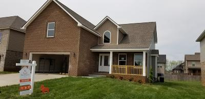 Christian County, Ky, Todd County, Ky, Montgomery County Single Family Home For Sale: 102 Griffey Estates