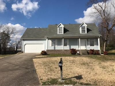 Lavergne Single Family Home Under Contract - Not Showing: 123 Hidden Forest Ln