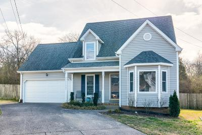 Madison Single Family Home Under Contract - Not Showing: 512 Robbie Ann Ct
