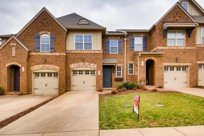 Mount Juliet Condo/Townhouse For Sale: 315 Windgrove Ter