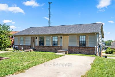 Clarksville Multi Family 5+ Under Contract - Showing: 117 Bennett Dr