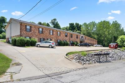 Clarksville Multi Family 5+ Under Contract - Showing: 706 Peachers Dr