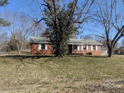 Clarksville Single Family Home Under Contract - Showing: 201 Nottingham Pl