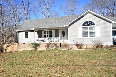 Single Family Home For Sale: 834 Toliver Lake Rd