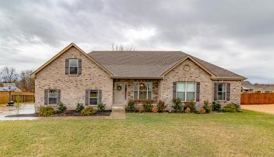Clarksville Single Family Home Under Contract - Not Showing: 2452 Ellsworth Dr