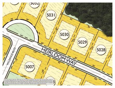 College Grove Residential Lots & Land For Sale: 8227 Heirloom Blvd (Lot 5030)