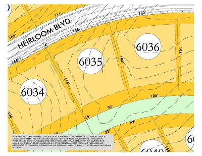 College Grove Residential Lots & Land For Sale: 8460 Heirloom Blvd (Lot 6035)