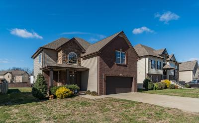 Clarksville Single Family Home Under Contract - Not Showing: 3722 Windhaven Ct