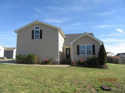 Clarksville Single Family Home Under Contract - Showing: 1341 Loren Cir