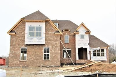Mount Juliet Single Family Home For Sale: 207 Whitley Way #207
