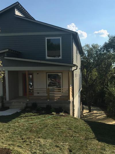 Nashville Single Family Home For Sale: 3219 B Lincoln Ave