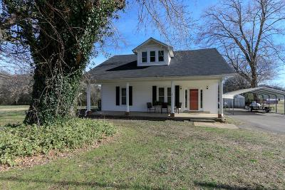 Culleoka Single Family Home For Sale: 2309 Culleoka Hwy
