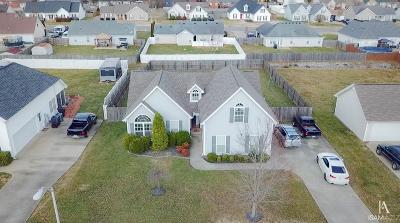 Murfreesboro TN Single Family Home Under Contract - Not Showing: $239,932