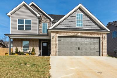 Clarksville Single Family Home Under Contract - Showing: 1124 Gentry Dr