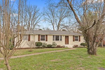 Nashville Single Family Home For Sale: 5012 W Durrett Dr