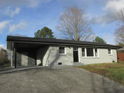 Christian County, Ky, Todd County, Ky, Montgomery County Single Family Home For Sale: 225 Old Trenton Rd