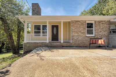 Nashville Single Family Home For Sale: 409 Hill Rd