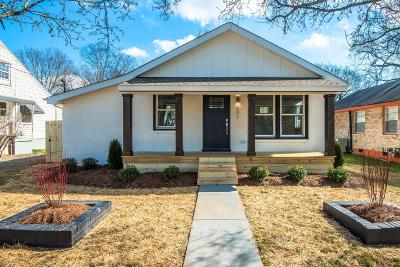 Nashville Single Family Home For Sale: 605 Neill Ave
