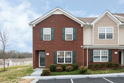Antioch Condo/Townhouse Under Contract - Not Showing: 1760 Red Jacket Dr