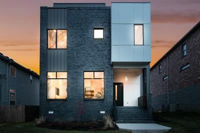 Nashville Single Family Home For Sale: 318 33rd Ave N