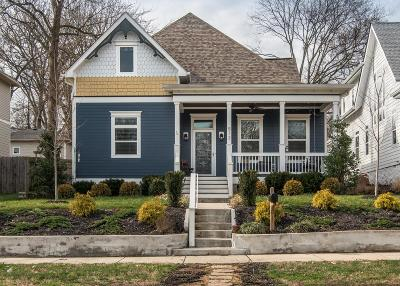 Nashville Single Family Home Under Contract - Showing: 512 S 12th St
