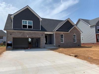 Clarksville Single Family Home Under Contract - Showing: 512 Autumnwood Farms